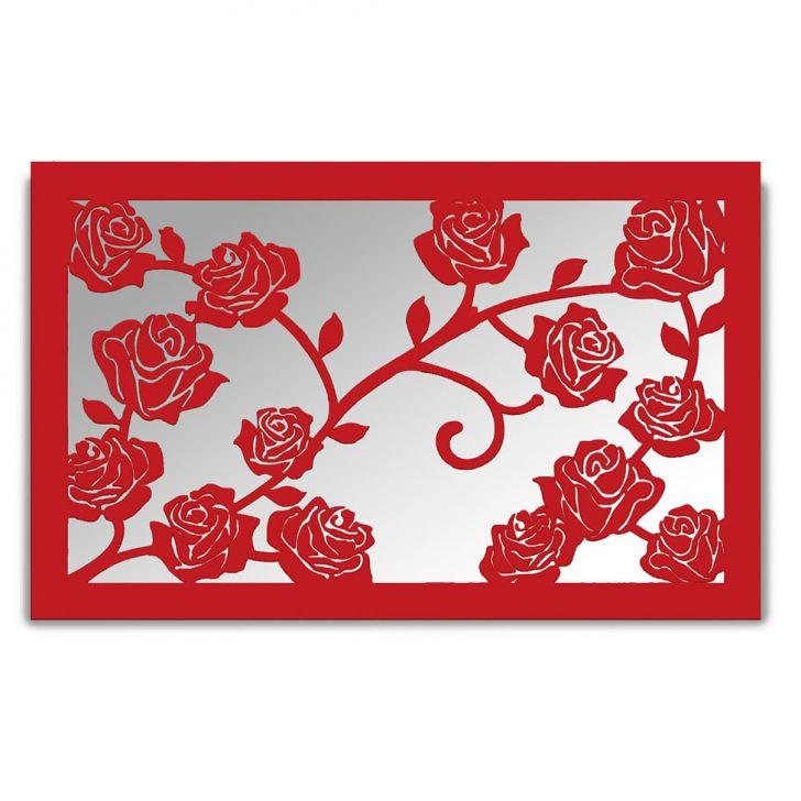 Espelho De Parede 13212V Vermelho 70x110 Art Shop DESCONTO DE R$: 338,00 (50,45% OFF) - OFERTA MOBLY
