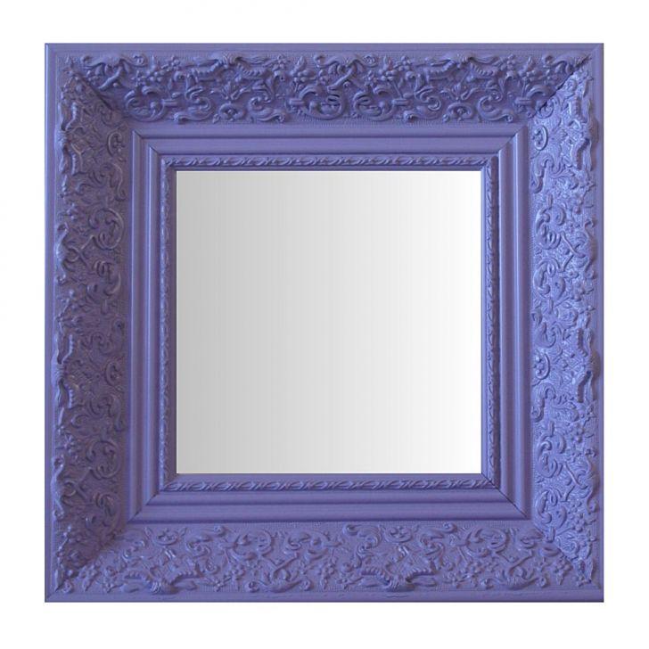 Espelho Moldura Rococó Fundo 16440 Lilás Art Shop DESCONTO DE R$: 402,00 (43,70% OFF) - OFERTA MOBLY