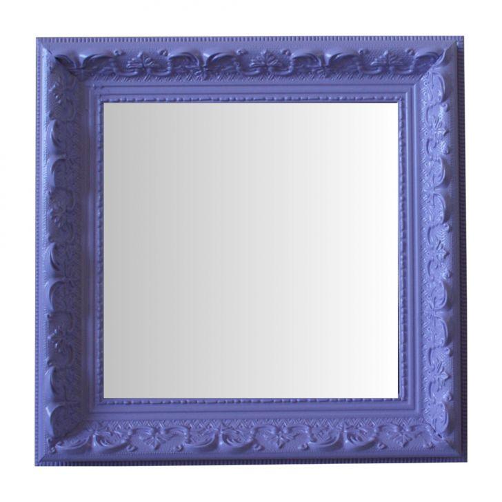 Espelho Moldura Rococó Raso 16240 Lilás Art Shop DESCONTO DE R$: 122,00 (55,46% OFF) - OFERTA MOBLY
