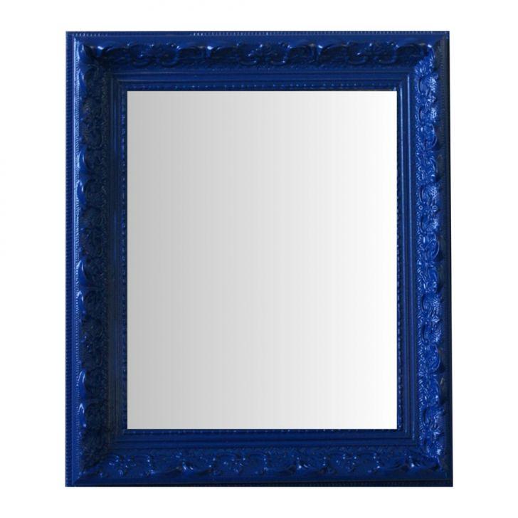Espelho Moldura Rococó Raso 16402 Azul Art Shop DESCONTO DE R$: 98,00 (25,13% OFF) - OFERTA MOBLY