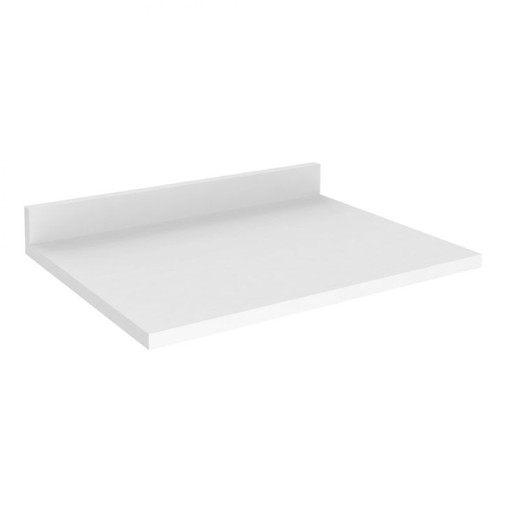 Tampo Para Balcão Cz810 70 X 52 X 9,5 Branco Art In Móveis