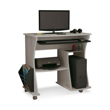 Mesa para Computador Cinza & Preto Artely RACK PARA COMPUTADOR 160
