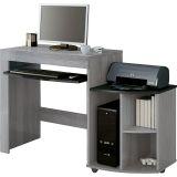 Mesa para Computador On Line Cinza & Preta