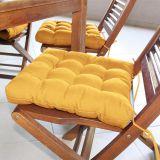 Assento para Cadeira Futton Confort - 40 x 40 cm Amarelo