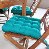 Assento para Cadeira Futton Confort - 40 x 40 cm Azul