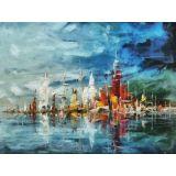 Reprodução em Canvas da obra do artista Celito Medeiros 120 X 90 cm - CM9194 -Tam G