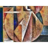 Reprodução em Canvas da obra do artista Celito Medeiros 80 X 60 cm - CM8295 -Tam M