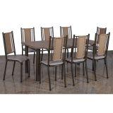 Conjunto de Mesa 8 Cadeiras Ouro Abaete Ativa