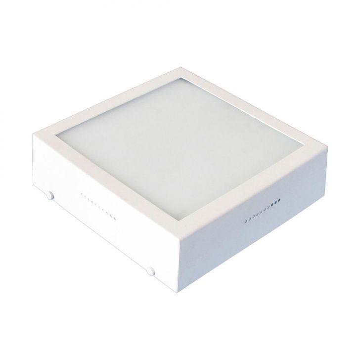 Plafon Caixa Sobrepor Quadrado Branco 2 Lâmpadas Bivolt DESCONTO DE R$: 30,00 (30,00% OFF) - OFERTA MOBLY