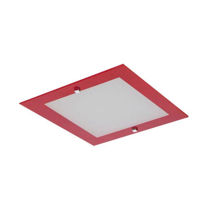 Plafon Flex Sobrepor E Embutir 1 Lâmpada Vermelho Bivolt DESCONTO DE R$: 20,00 (28,58% OFF) - OFERTA MOBLY