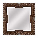 Espelho com Bisotê Vazado 03 Quadrado 60X60
