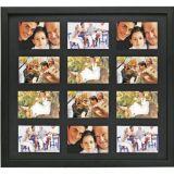 Porta-Retrato 1 Foto 10x15 cm Preto 50x53 BW Quadros
