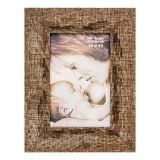 Porta-Retrato 1 Foto 15x21 cm Marrom  BW Quadros