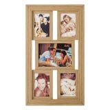 Porta-Retrato 1 Foto 15x21 e 4 Fotos 10x15 Bege  BW Quadros