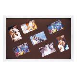 Porta-Retrato Família 7 Fotos 10X15 Fm23Bt