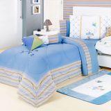 Kit de Cama Theo Solteiro Kids Azul