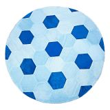 Tapete Bola Azul  125 X 125 Batistela