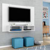 Painel para Tv Navi Branco com Textura