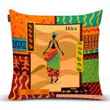 Capa Para Almofada África 007 43X43 Cm Colorido Belchior