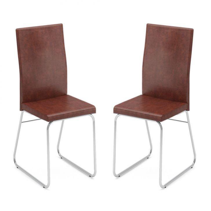 Conjunto 2 Cadeiras C-668 Facto Tabaco
