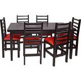 Conjunto Mesa 160x80 Com 6 Cadeiras Barbara