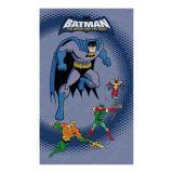 Toalha Batman Friends  Veludo  Buettner