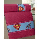 Toalha Felpuda com Transfer Superman  Buettner