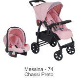 Conjunto Carrinho Módulo + Bebê Conforto Touring Evolution Messina - Burigotto