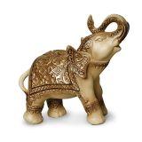 Enfeite Argila Marrom Elefante Indiano II Buzzios
