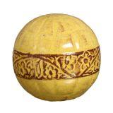 Esfera Violetas II Amarelo Buzzios