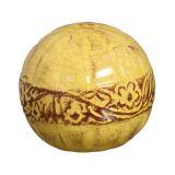 Esfera Violetas III Amarelo Buzzios