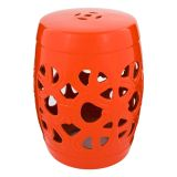 Puff Ceramic Arch Vermelho By Haus