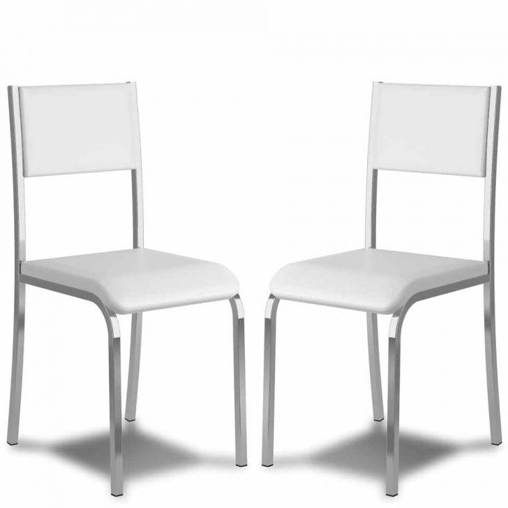 Kit 2 Cadeiras De Cozinha 366 Branca |Carraro