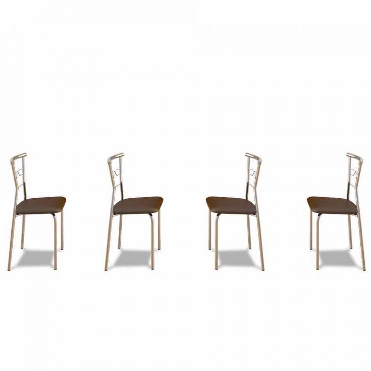 Kit 4 Cadeiras De Cozinha 152 Cacau |Carraro