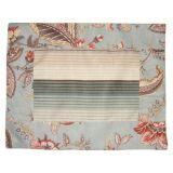 Kit de jogo americano 35 x 45 cm Floral Azul 8 pçs Casa com Charme
