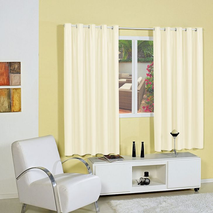 Cortina Blackout 1,80 x 2,00 m Palha