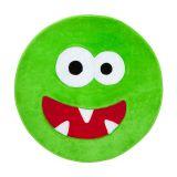 Tapete Infantil Monster Verde 77x77 Casaborda
