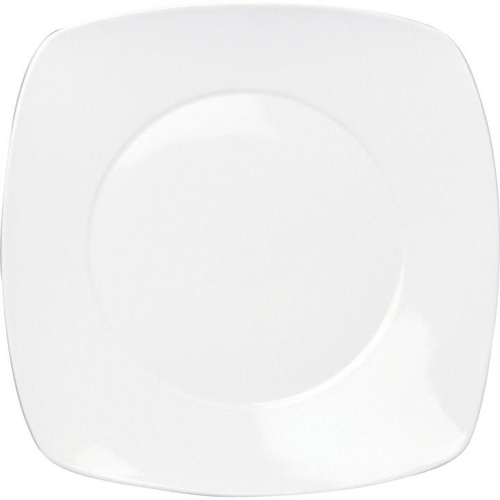 Prato Raso Aspen Branco 30 cm Porcelana