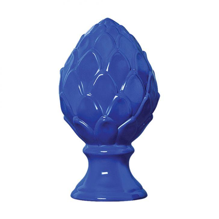 Enfeite de Mesa Pinha P Azul 15x27 cm Mazzotti