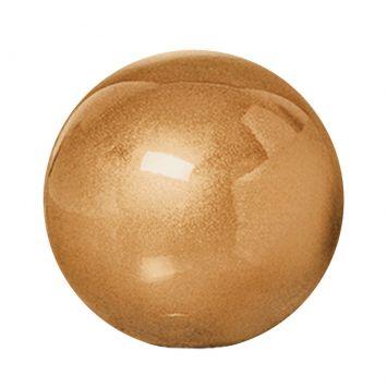 Esfera G de Cerâmica 14cm Dourado Mazzotti Cerâmica Mazzotti ESFERA G