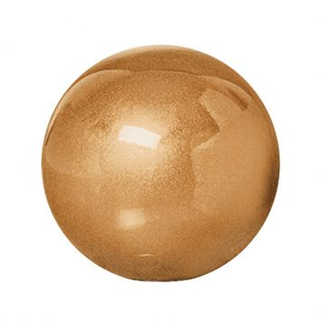 Esfera P de Cerâmica 10cm Dourado Mazzotti Cerâmica Mazzotti ESFERA P