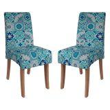 Conjunto 2 Cadeiras Beatriz Cedro & Ladrilho Cimol