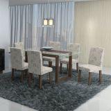 Conjunto de Mesa e 6 Cadeiras Milena Carvalho Primavera Cimol