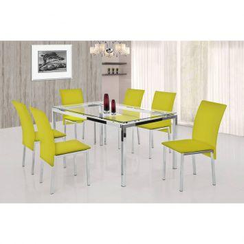 Mesa de cozinha com 6 cadeiras preço