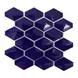 Placa De Porcelana Bistro 09 Azul Escuro