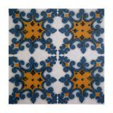 Placa De Porcelanato Hidraulico 04 Azul