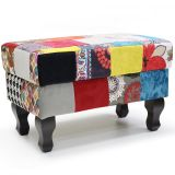 Puff Gioconda Decorativo Patchwork 169
