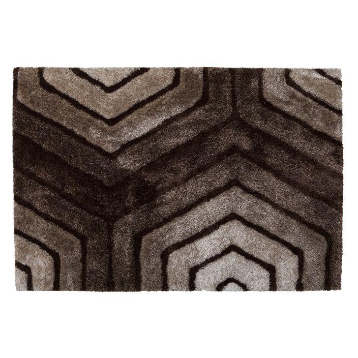Tapete 3D Standal Marrom 200 x 300 cm - Tapetes Corttex