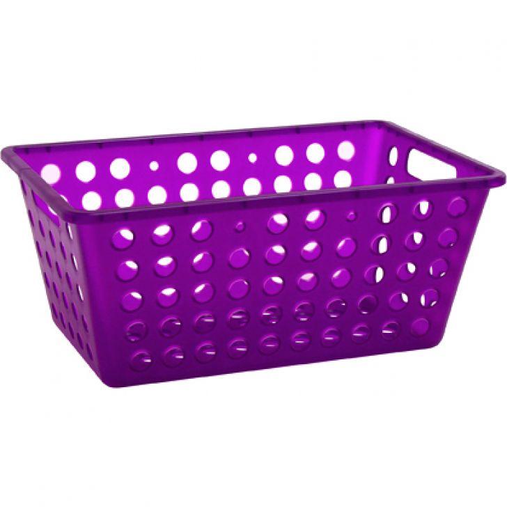 Cesta Grande Large Basket Roxo 19 cm