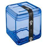 Porta Escova Cube Azul
